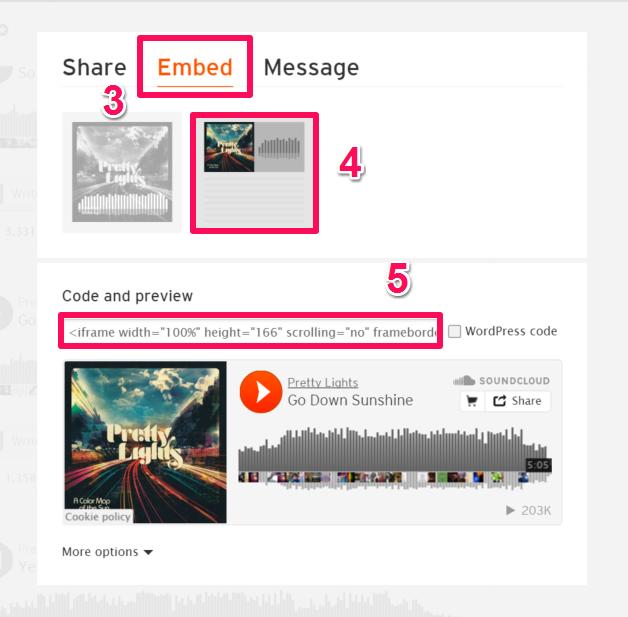 Soundcloud – Support
